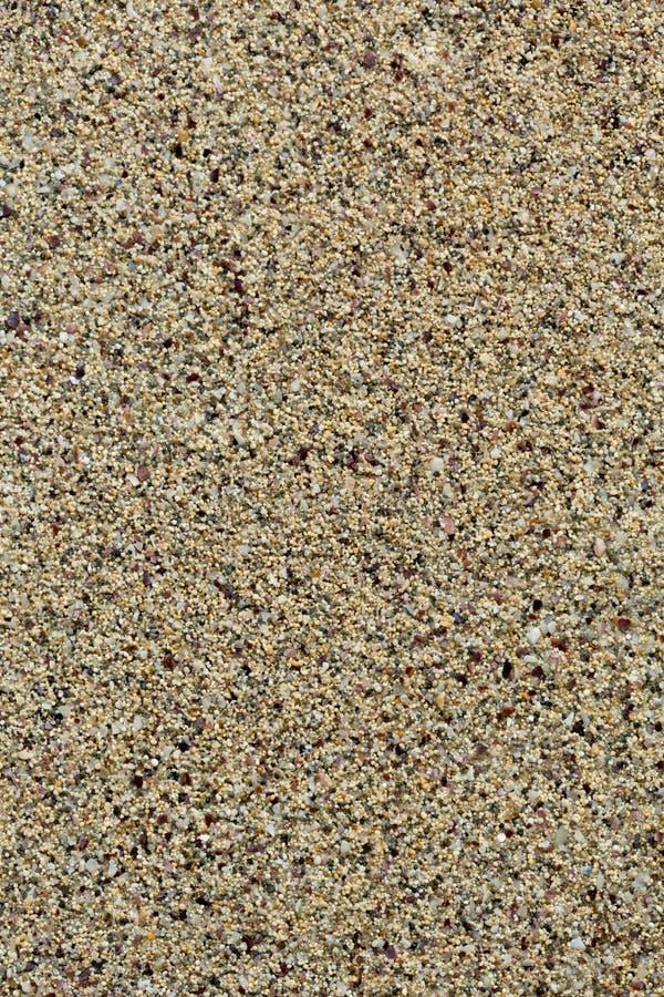 Sable de mer, fond doux Petits granules vertical images libres de droits