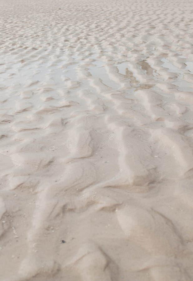 Sable sur la plage photo libre de droits