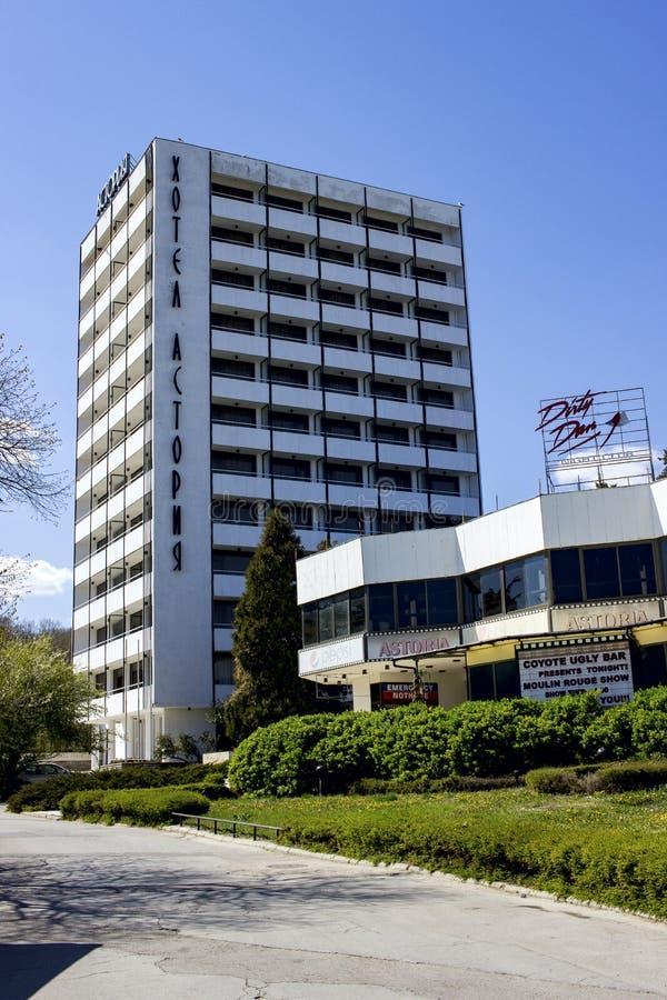 SABLES D'OR, hôtel Astoria de la BULGARIE photo stock