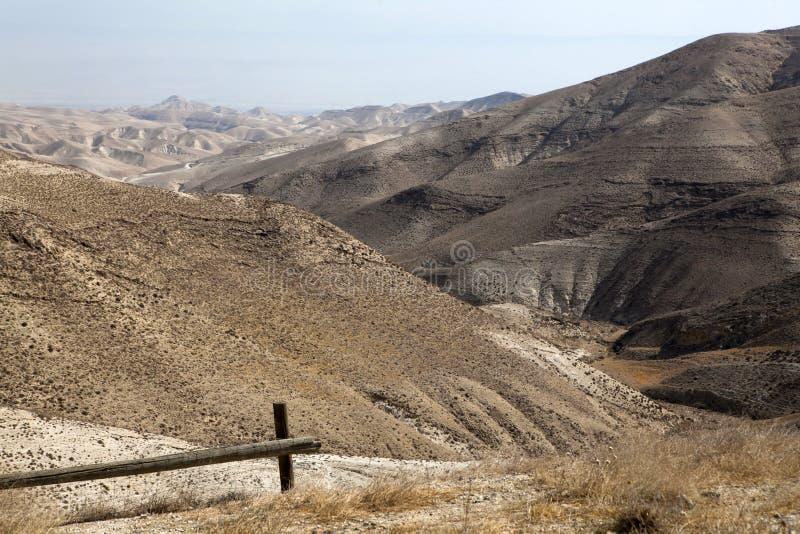 Sables de désert de Judean photographie stock