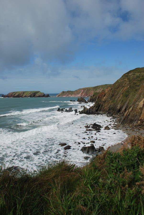 Sables de Marloes, Pembrokeshire images stock