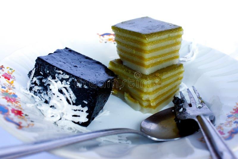 Sabor tailandês da sobremesa fotos de stock royalty free