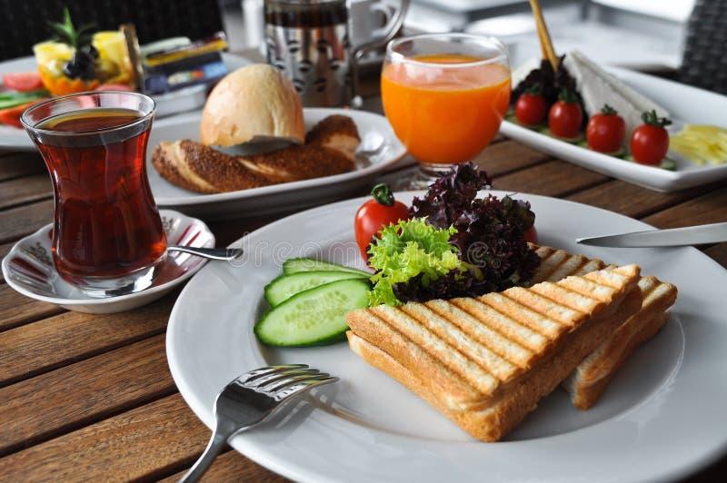 Saboroso um café da manhã fotografia de stock royalty free