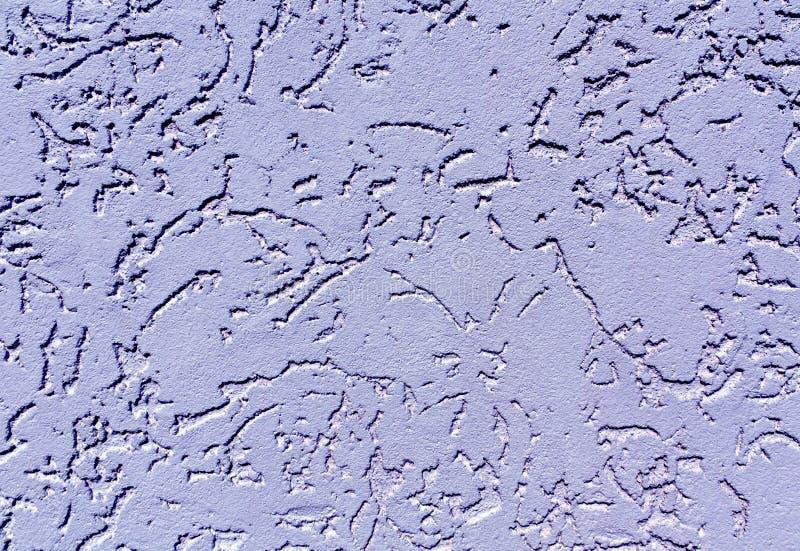 Sabot bleu de mur de plâtre de couleur photos libres de droits