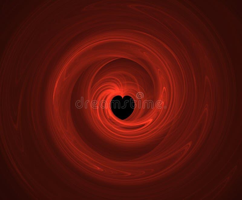 Sabot de coeur illustration libre de droits
