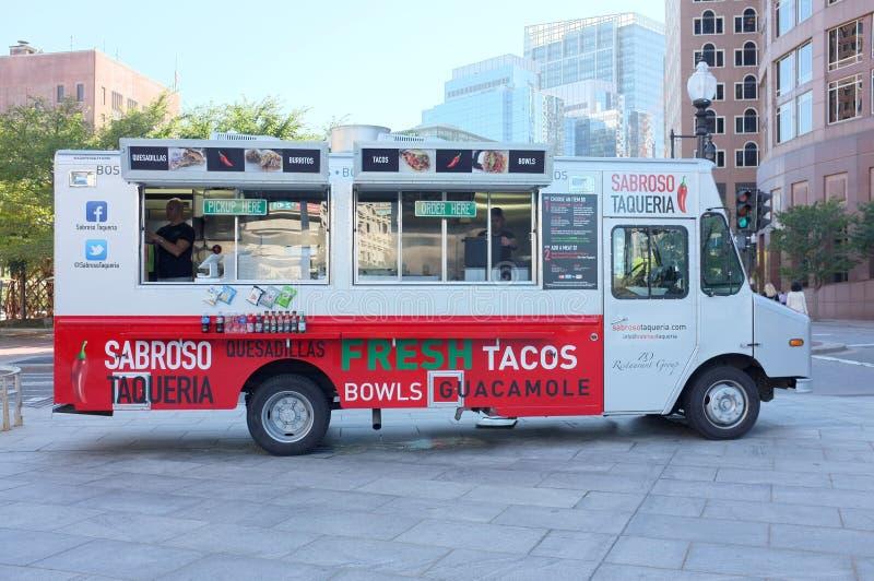 Sabroso Taqueria Food Truck Editorial Photo
