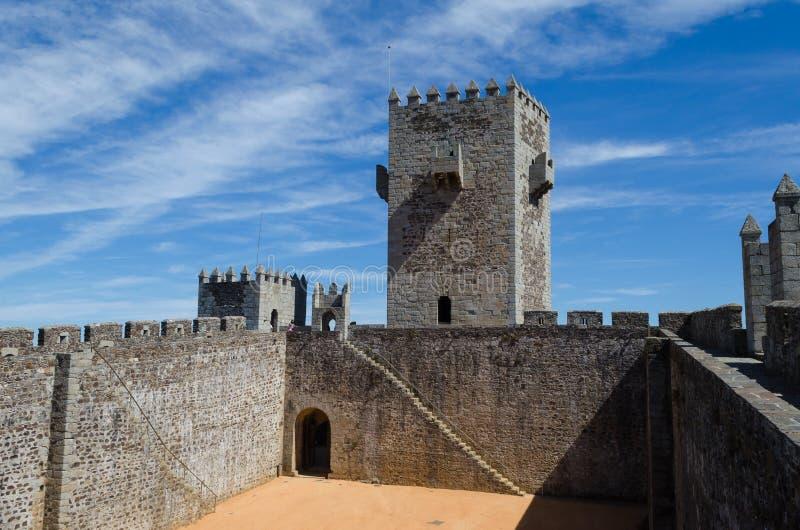 Sabugal城堡,葡萄牙的历史村庄 Sabugal的自治市 葡萄牙 免版税库存照片