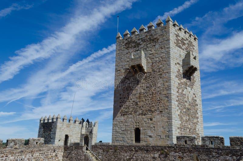 Sabugal城堡,葡萄牙的历史村庄 Sabugal的自治市 葡萄牙 免版税库存图片