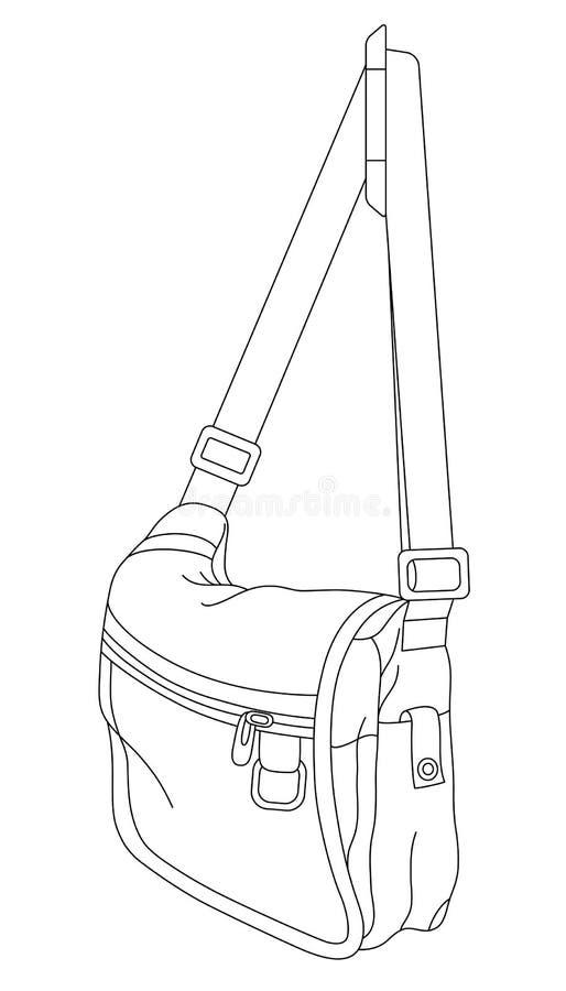 Sac 02 illustration de vecteur