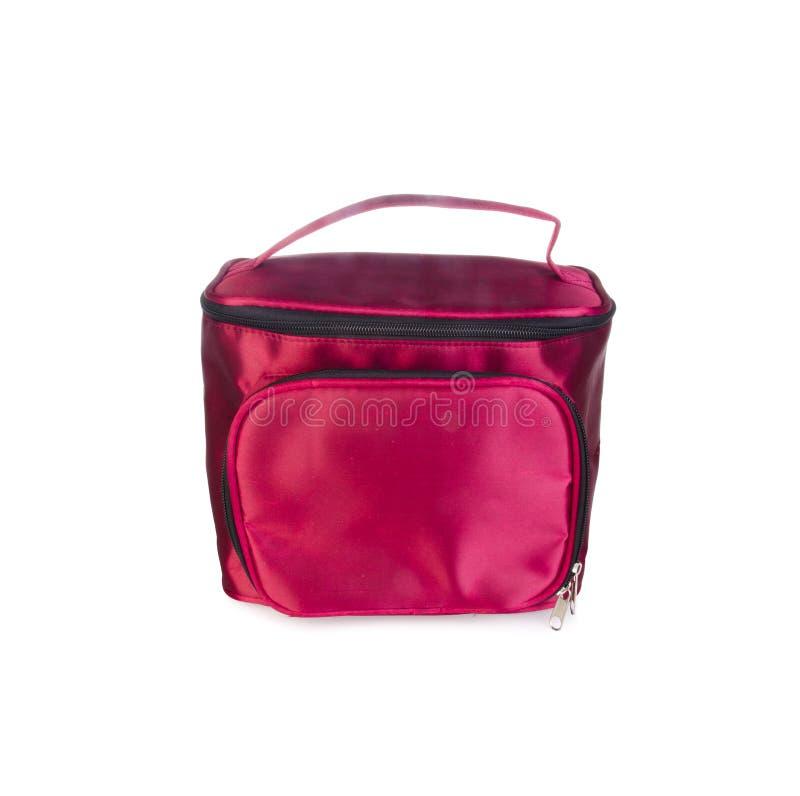 sac sac cosmétique sur le fond image libre de droits