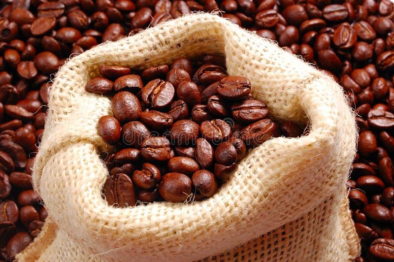 Sac de café photographie stock libre de droits