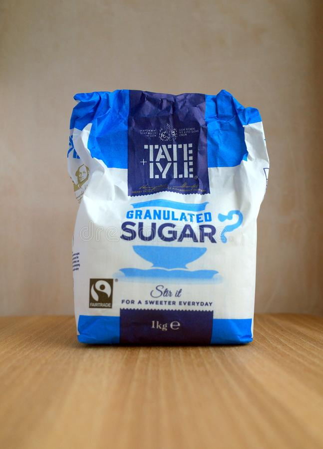 Sac de Cosumed de partie de Tate et de Lyle Sugar image libre de droits