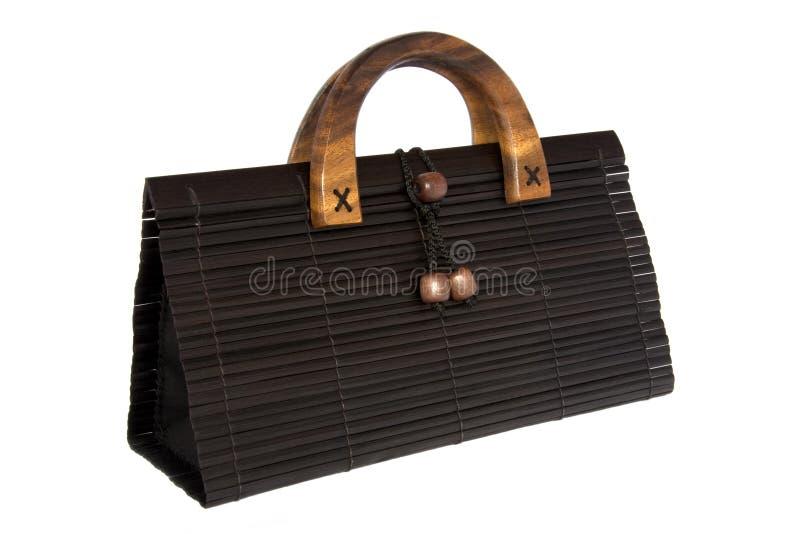 Sac de main en bambou photos stock