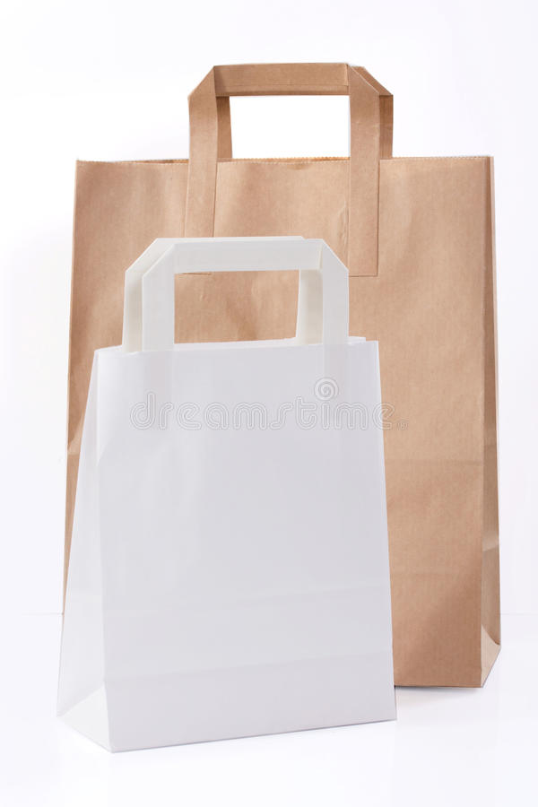Sac de papier photo stock