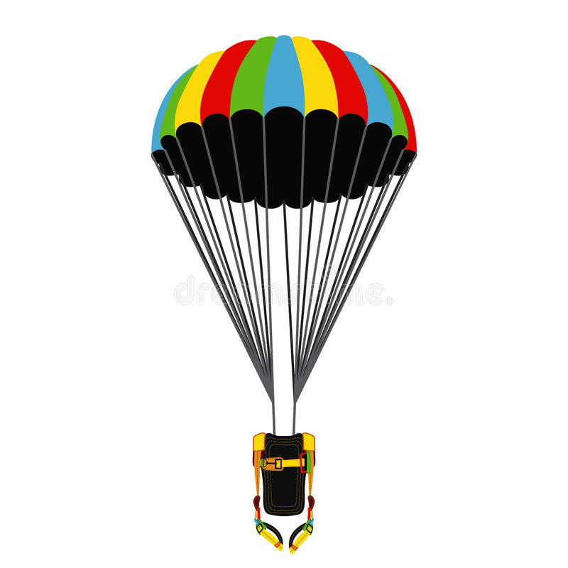 De Faire Saut En Un Le Avec Parachute Ouvert Sac 0knP8OXw