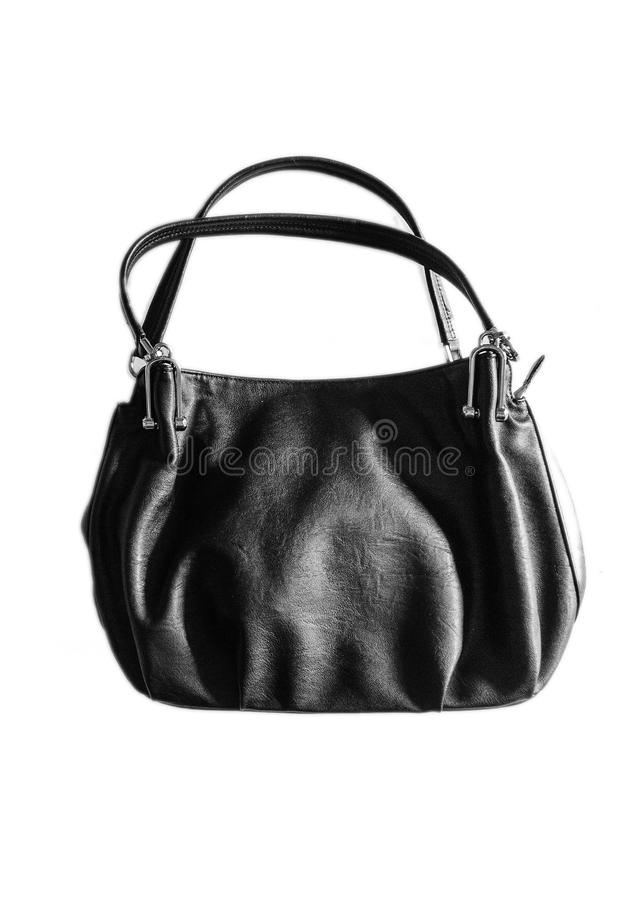 Sac moderne d'isolement photos stock