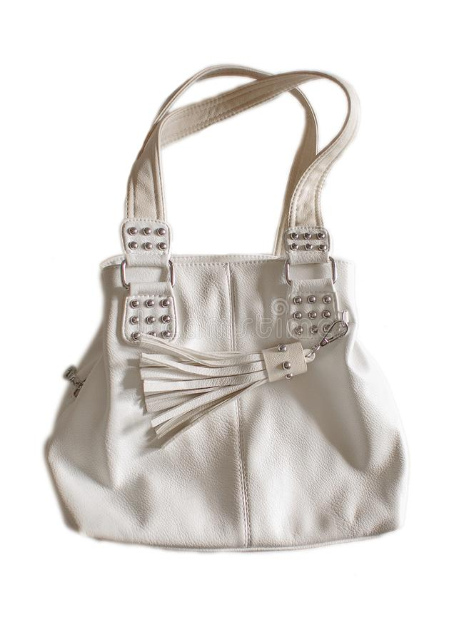 Sac moderne d'isolement images stock