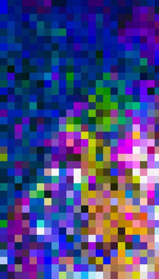 Sacador cúbico del color libre illustration