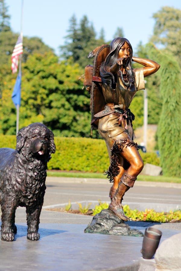 Sacagawea arkivbilder