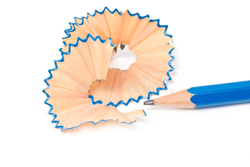 Sacapuntas de lápiz. fotografía de archivo libre de regalías