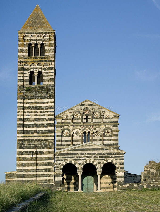 Free Saccargia Church Front Stock Image - 5601811