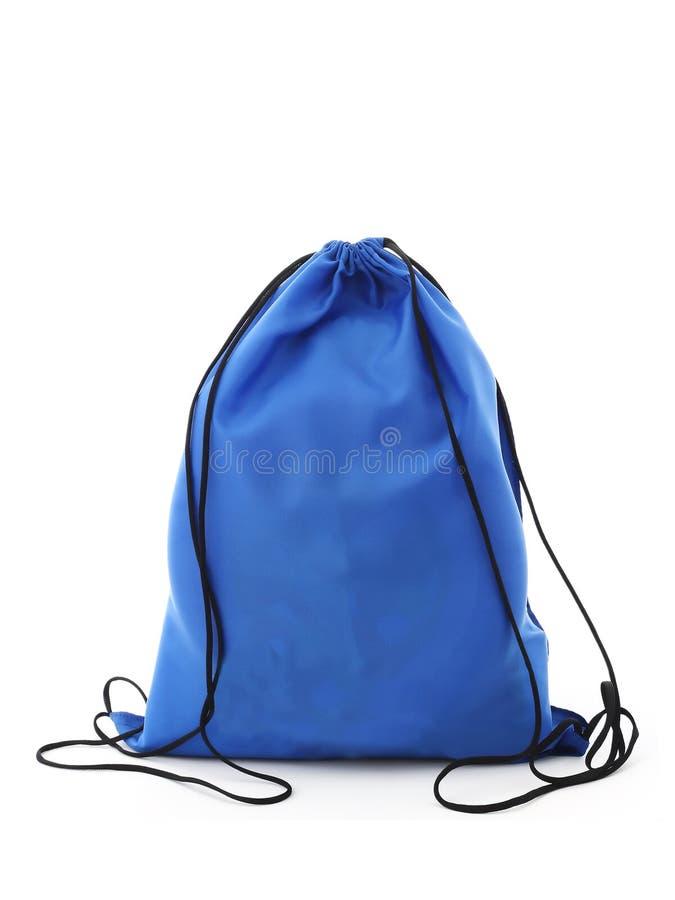Sacchetto blu fotografia stock libera da diritti
