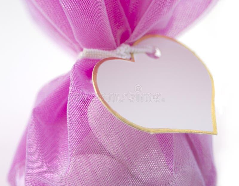Sacchetto dei confetti immagini stock libere da diritti