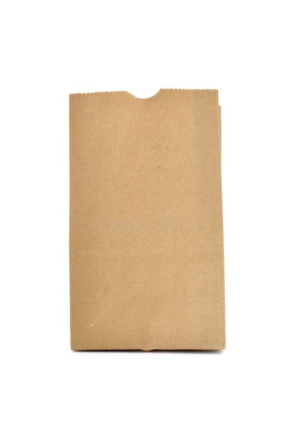 Sacchetto del Brown immagine stock
