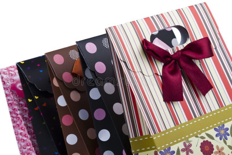 Sacchetto del regalo immagini stock