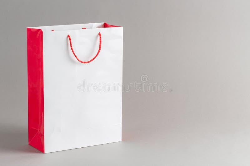 Sacchetto della spesa di carta immagini stock