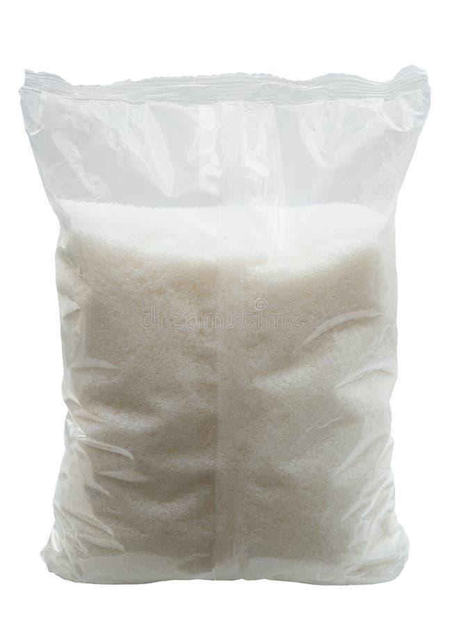 Sacchetto dello zucchero immagine stock libera da diritti