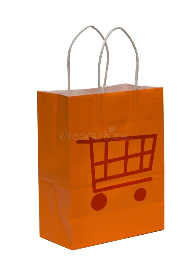 Sacchetto di acquisto immagine stock