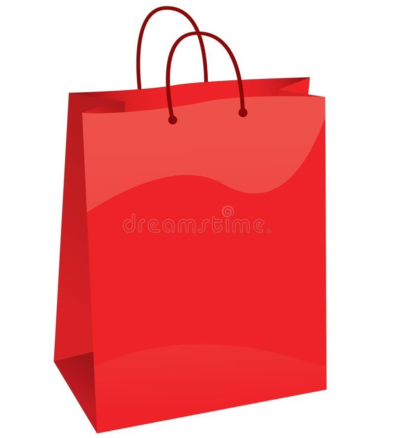 Sacchetto di acquisto illustrazione vettoriale
