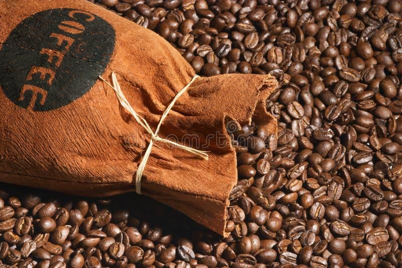 Sacchetto di caffè immagini stock libere da diritti