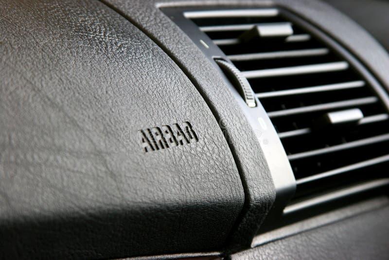 Sacchi ad aria laterali del passeggero. immagine stock libera da diritti