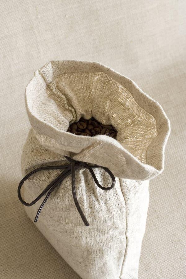 Sacco di caffè fotografia stock