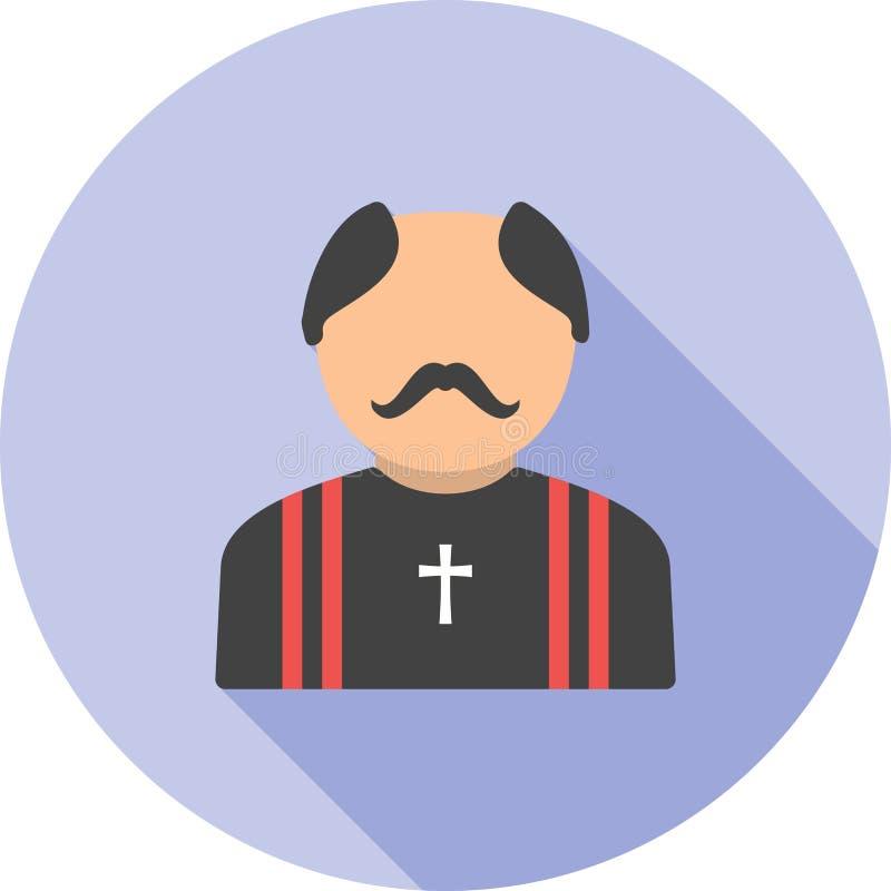sacerdote stock de ilustración