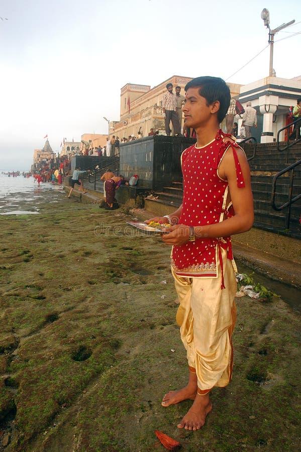Sacerdote indiano immagine stock libera da diritti