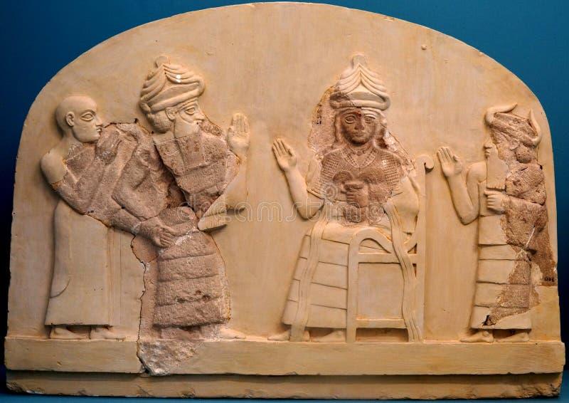 Sacerdote King de Lagash foto de archivo