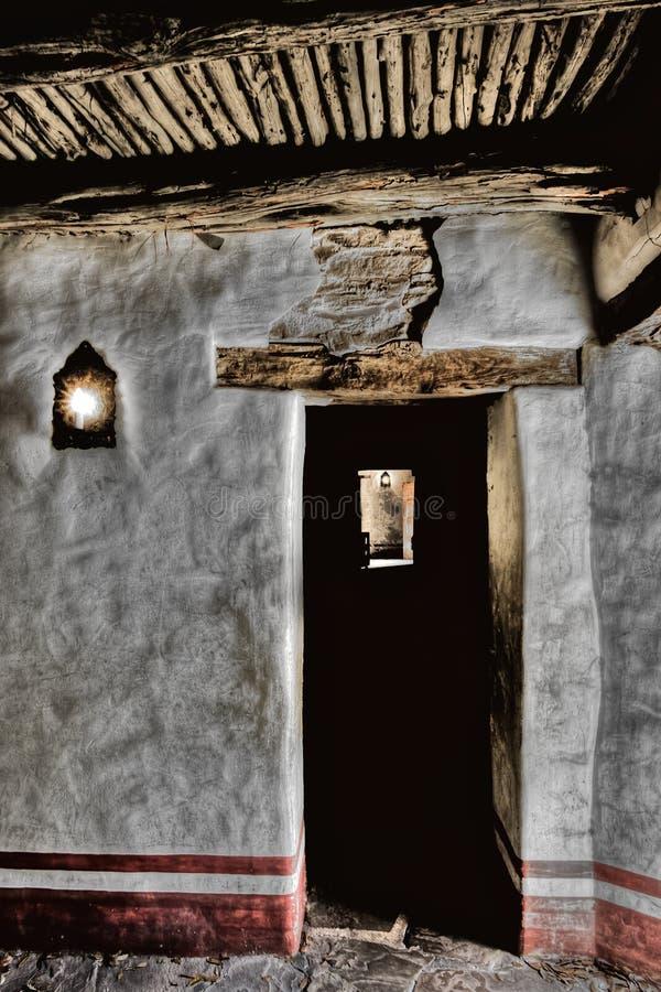 Sacerdote Quarters Mission San Jose imagen de archivo libre de regalías