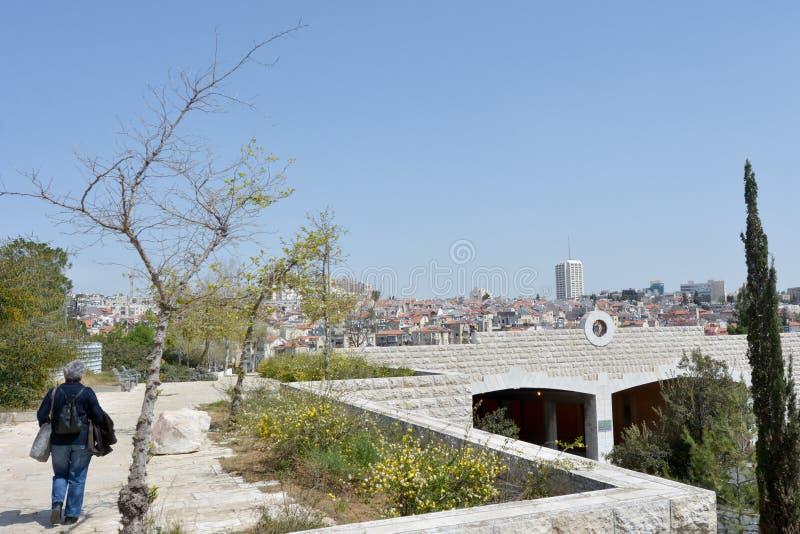 Sacher park Jerozolima, Izrael obrazy royalty free