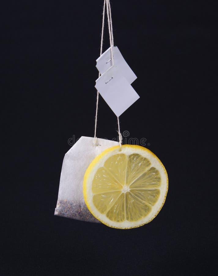 Sachet à thé images libres de droits
