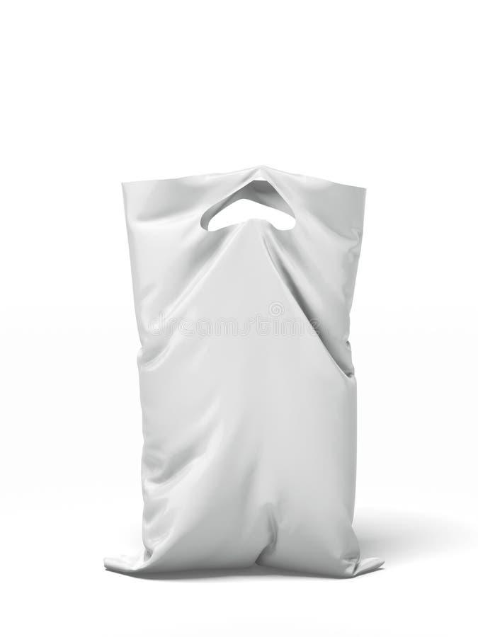 Sachet en plastique illustration stock