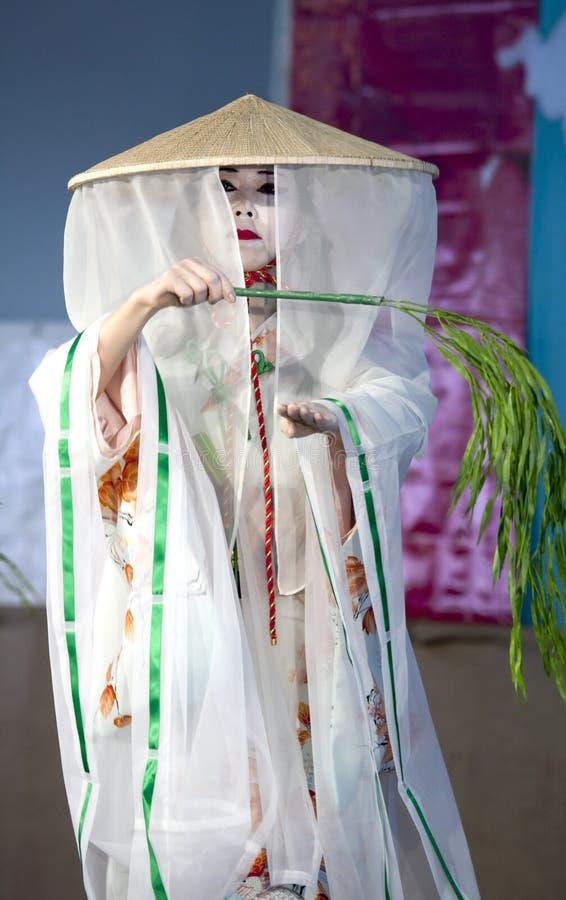 Sachiyo Ito Dance Company au jardin botanique de Brooklyn photographie stock libre de droits