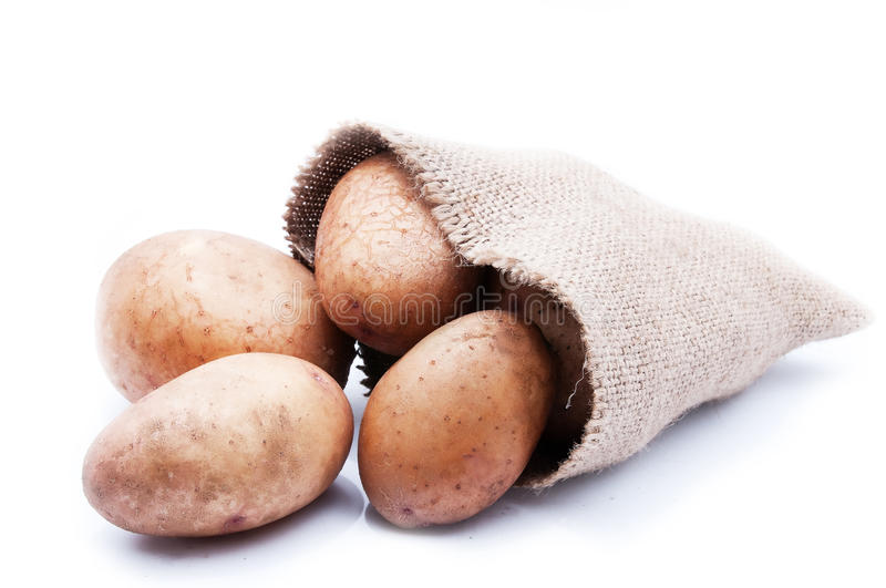 Download A sack of potatoes stock image. Image of group, vegetable - 26171285