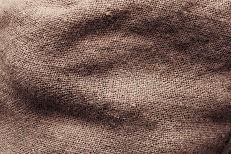 Sack texture royalty free stock photography