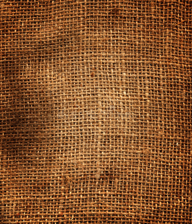 Sack texture. Texture of an old, dirty potatoes sack