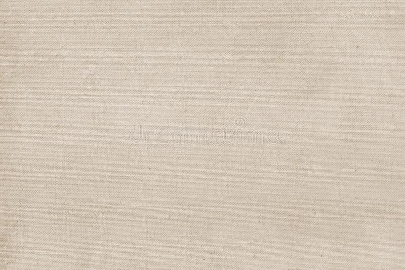 Sackcloth ή burlap το υπόβαθρο με το ορατό διάστημα αντιγράφων σύστασης για το κείμενο και άλλη τυπωμένη ύλη Ιστού σχεδιάζει τα σ στοκ εικόνα