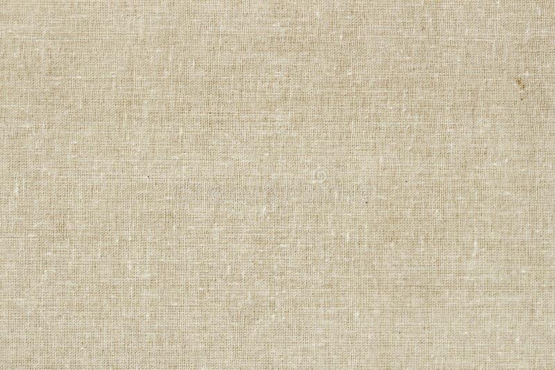 Sackcloth ή burlap υπόβαθρο με την ορατή σύσταση Κινηματογράφηση σε πρώτο πλάνο ελαφρύ φυσικό sackcloth, καμβάς, ύφασμα, γιούτα,  στοκ εικόνες με δικαίωμα ελεύθερης χρήσης