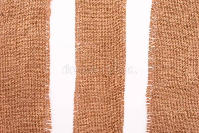 sackcloth υλικών στοκ εικόνες